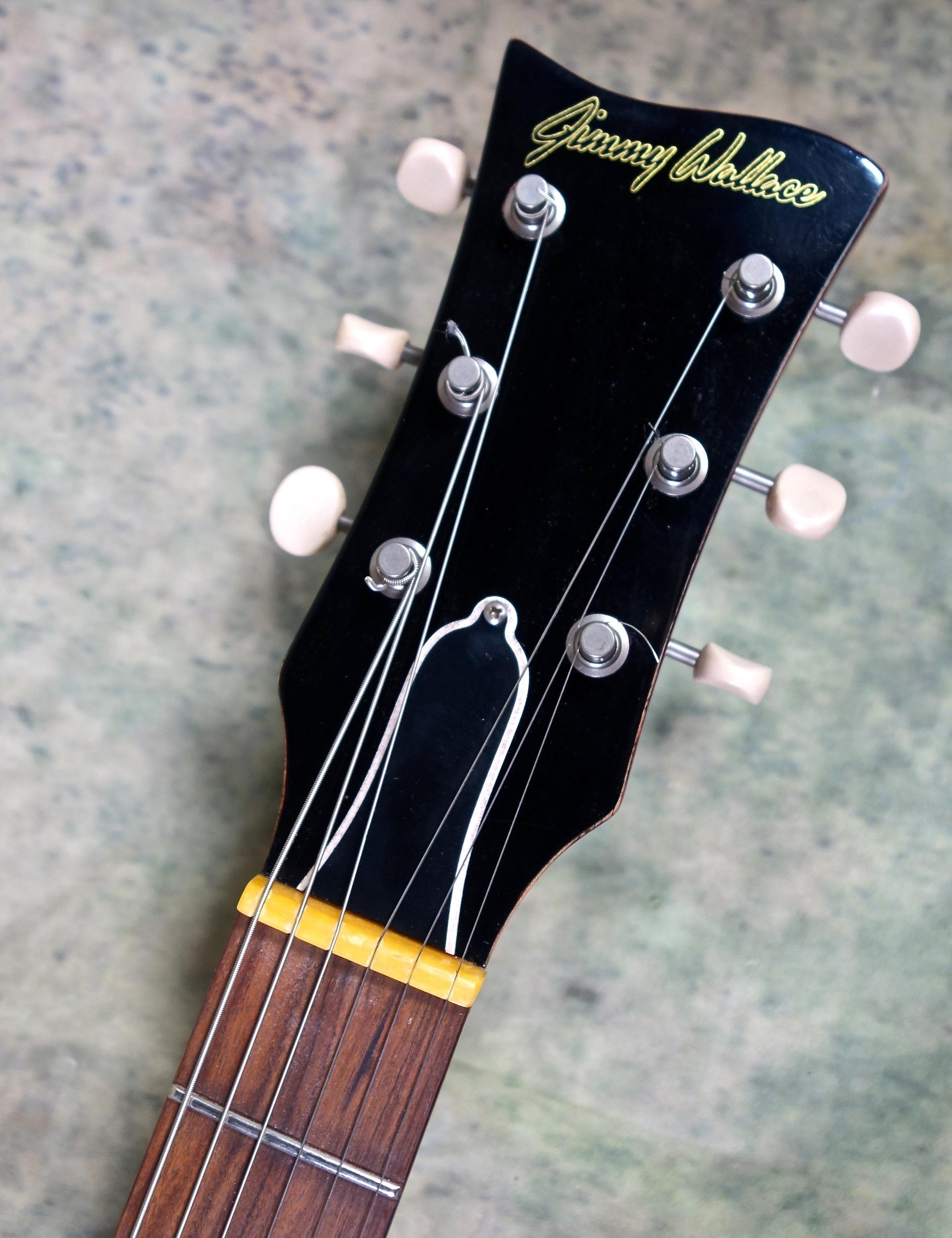 Jimmy Wallace SC Cherry Double Cutaway