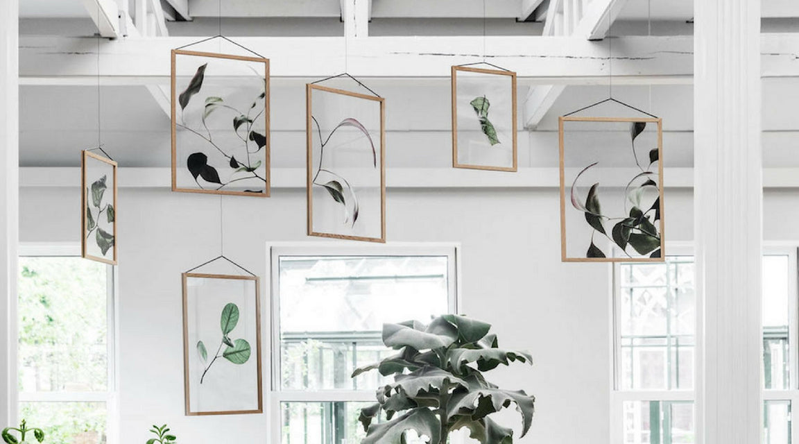 Floating leaves collection Moebe x Norm Architects x Paper Collective