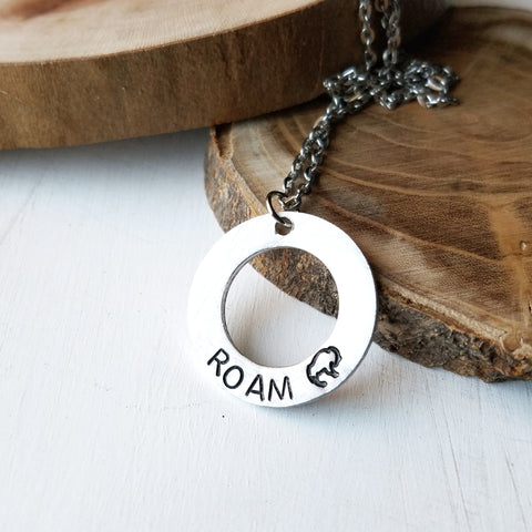 Roam Bison Necklace