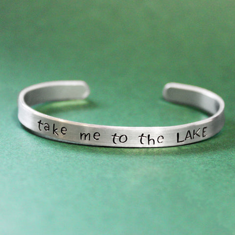 Take Me to The Lake bracelet