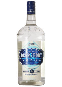 Bottle of Deep Eddy Vodka from Checkers Discount Liquors and Wines in Miami, Florida