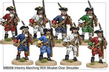 Infantry Marching with Shouldered Musket (MB508)