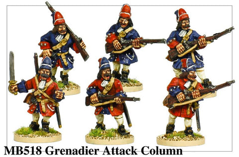 Grenadiers Attacking (MB518)