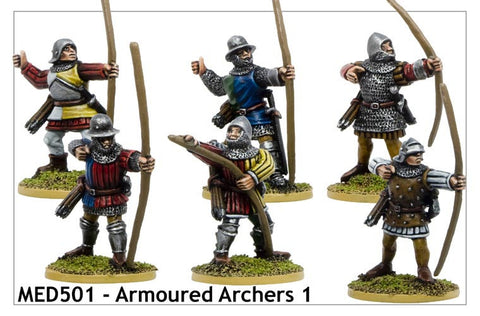 Armoured Medieval Archers 1 (MED501)