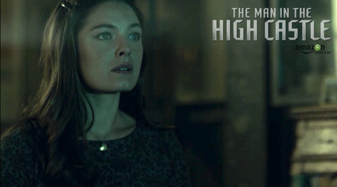 Gold Heart Necklace | Man in the High Castle
