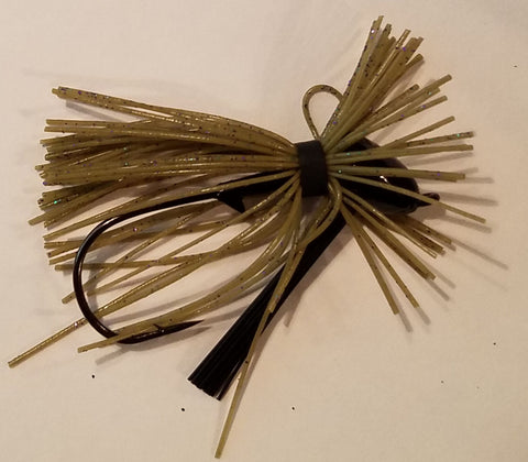Wood Thumper Jigs - #12 - Mardi Grass