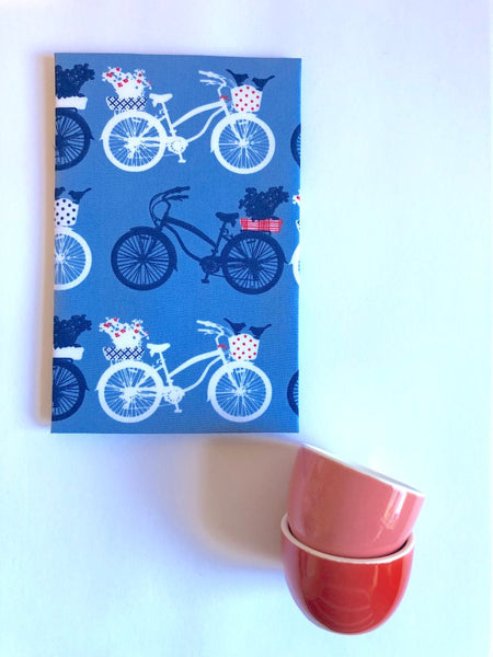 Bicycle Blues Hanky - last minute gift idea