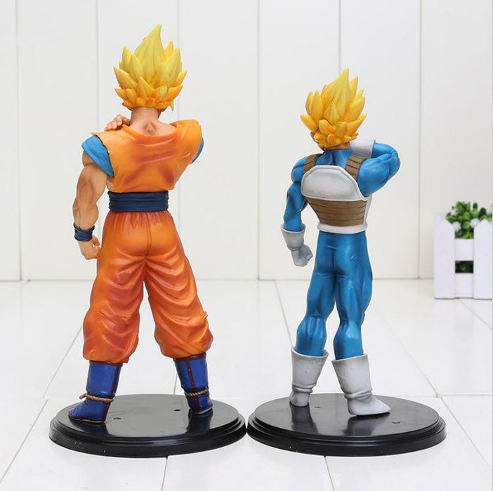 Resolution Of Soldiers ROS Super Saiyan Vegeta & Goku DBZ Figure - Saiyan Stuff - 3