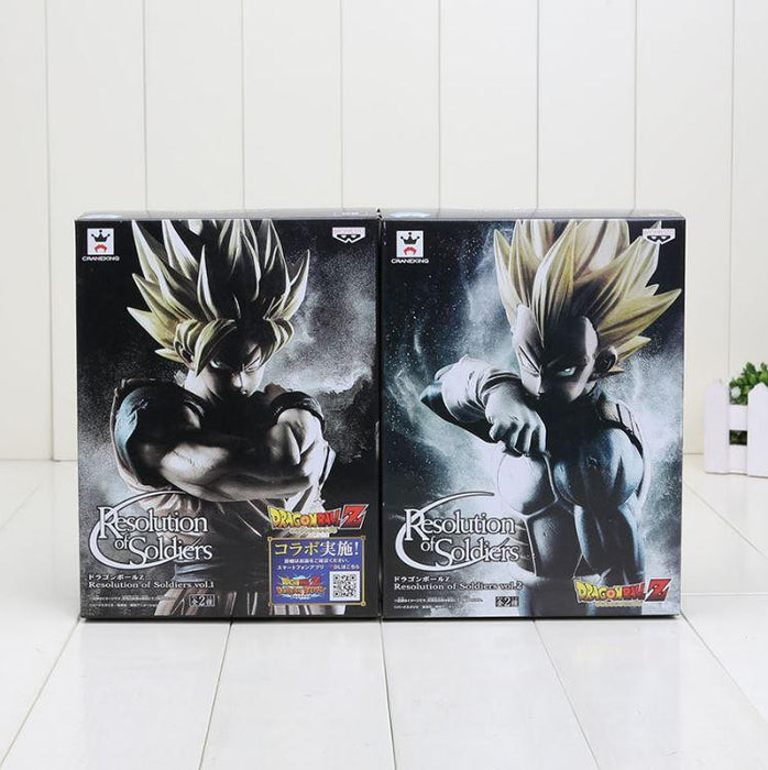 Resolution Of Soldiers ROS Super Saiyan Vegeta & Goku DBZ Figure - Saiyan Stuff - 6
