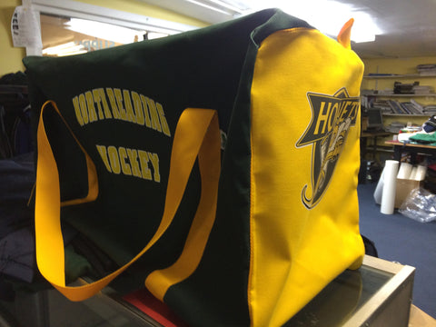 North Reading Hockey Team Bag for Name/# personalization see note below
