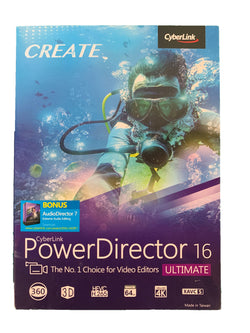 Cyberlink PowerDirector 16 Ultimate: Professional Video Editing Software - Wilkerson Trading