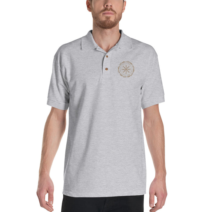Helm of Awe Polo Shirt - VikingsBrand