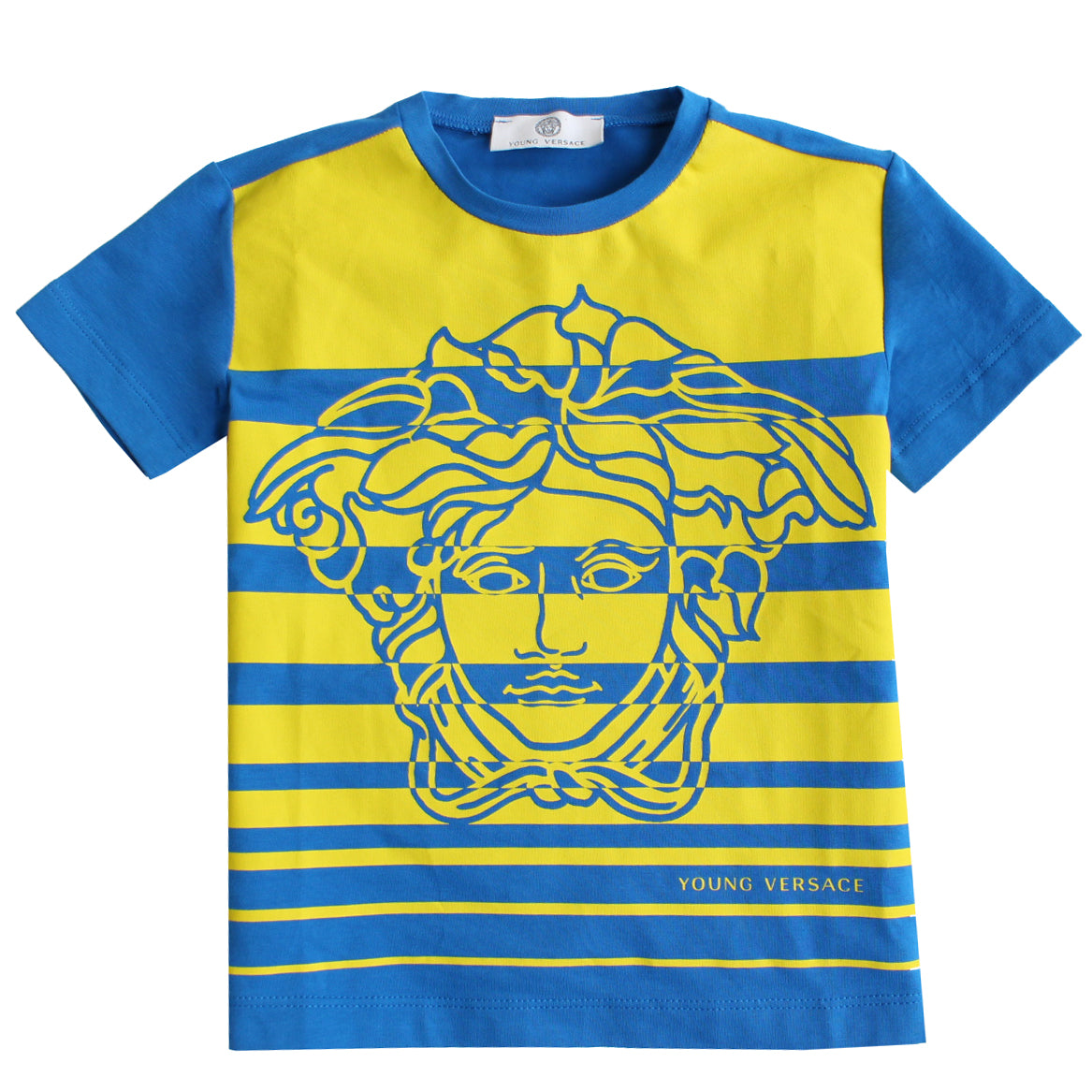 Young Versace | Boys Striped T-Shirt