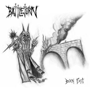 "Battletorn- Burn Fast 7"" - Mad At The World - Dead Beat Records"