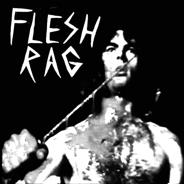 "Flesh Rag- S/T 7"" ~EX ROCKET REDUCERS! - It's Trash - Dead Beat Records"