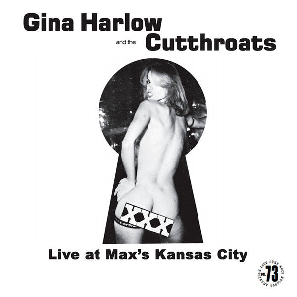 Gina Harlow And The Cutthroats- Live At Max's Kansas City LP ~REISSUE!