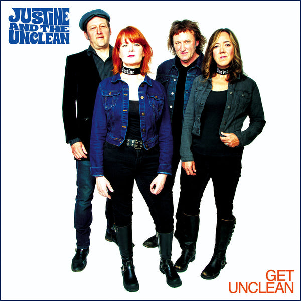 Justine And The Unclean- Get Unclean LP ~EX UPPER CRUST / RARE WHITE WAX!
