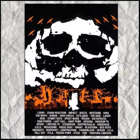 V/A- 'Hate/Love' 2xCD - Hellnation - Dead Beat Records
