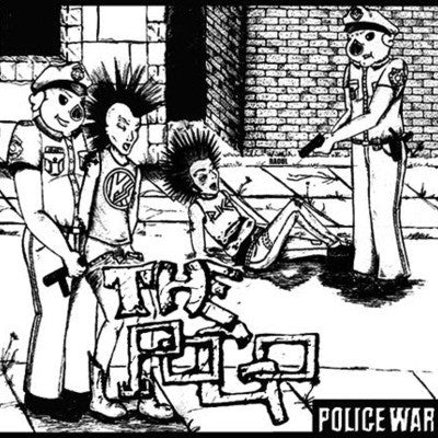 "The Pogo - Police War 7"" LIMITED TO 500 - Loud Punk - Dead Beat Records"