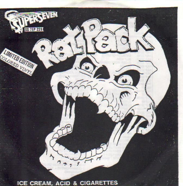 "Rat Pack- Ice Cream, Acid & Cigarettes 7"" ~ RARE MYSTIC RECORDS! - Mystic - Dead Beat Records"