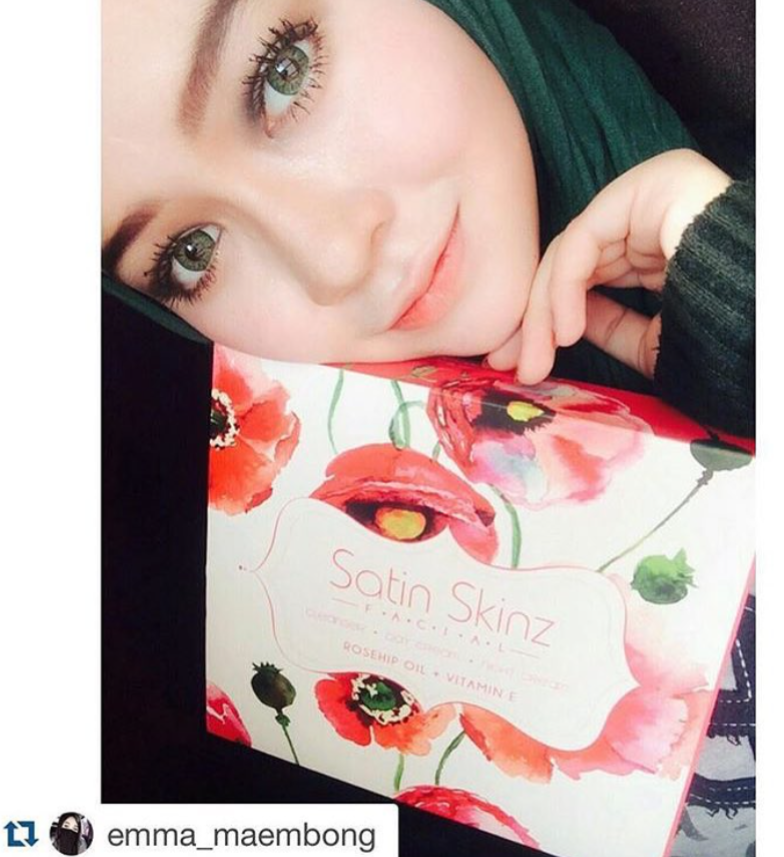 Satin skinz Facial Repost from Emma Maembong