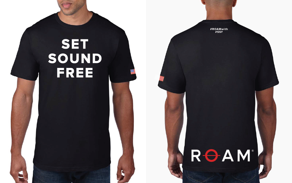Limited Edition SET SOUND FREE T-Shirt - Mens