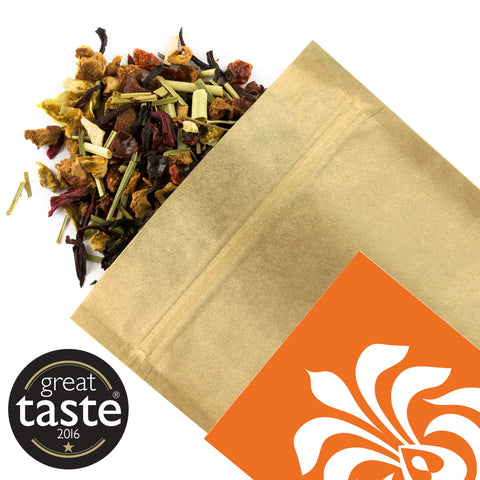 Apple & Grapefruit Organic - Award Winning Loose Leaf Tea - Tea Shirt Tailored Refreshments