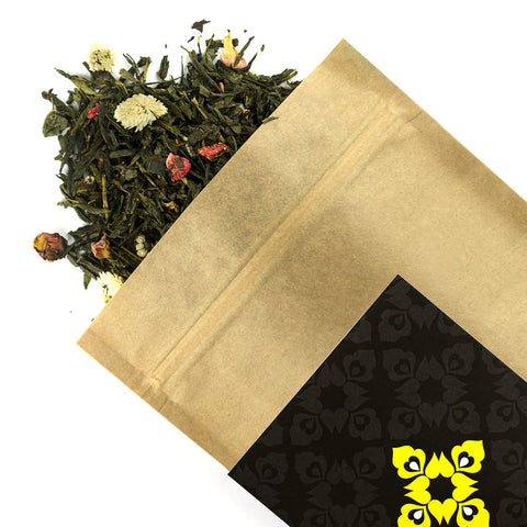Strawberry & Lychee - Award Winning Loose Leaf Tea - Tea Shirt Tailored Refreshments