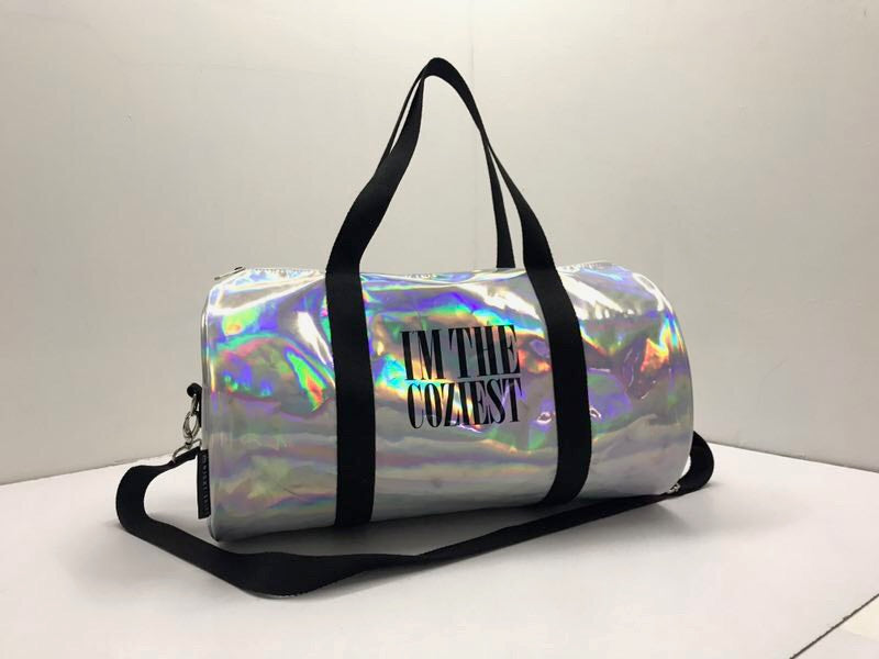 Holographic Overnight Duffle Bag