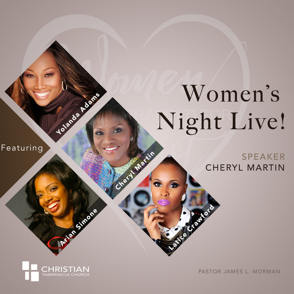 Women's Night Live 2017 - Cheryl Martin