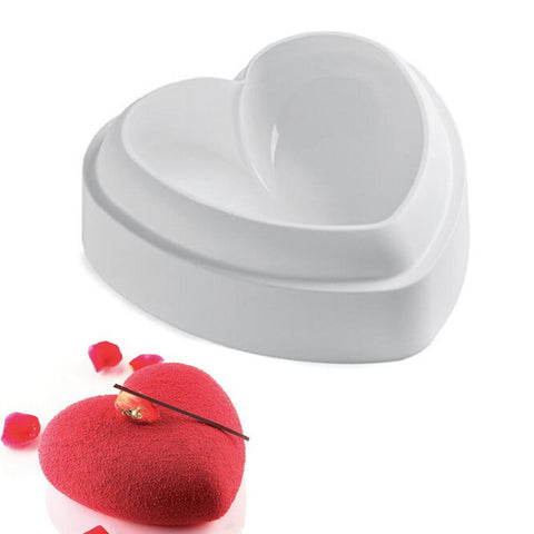 silicone-heart-shaped
