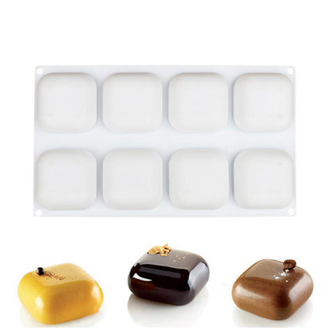GEM 100 Silicone Bakeware Small Square Shape