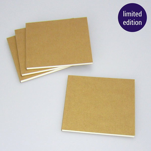 metallic gold notebook – limited edition