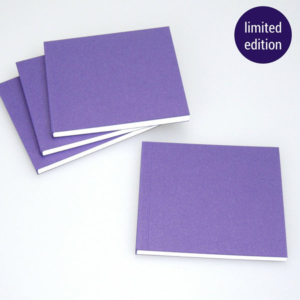 metallic purple notebook – limited edition