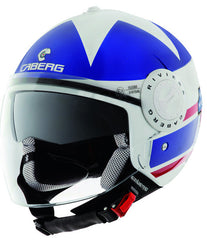 CABERG RIVIERAV2+ AMERICA WHITEBLUERED OPEN FACE MOTORCYCLE HELMT - Caberg -  - MSG BIKE GEAR