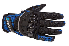 SPADA MX-AIR TEXTILE VENTED MOTORCYCLE MOTORBIKE GLOVES BLUE - Spada -  - MSG BIKE GEAR