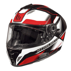 MT Blade 2 SV Fugue Helmet - Pearl White / Red