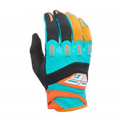 Fly Racing 2017 F-16 ADULT Motocross MX MTB Downhill Gloves - Orange/Teal