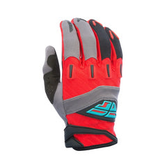 Fly Racing 2017 F-16 ADULT Motocross MX MTB Downhill Gloves - Red/Grey