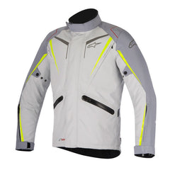 Alpinestars Yokohama Drystar Waterproof Motorcycle Jacket - Grey/Yellow - Alpinestars -  - MSG BIKE GEAR - 1