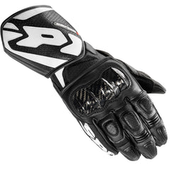 Spidi Carbo 1 Leather Sports Gloves - Black