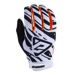 ANSWER GLOVE AR 3 2019 WHITE BLACK ORANGE MOTOCROSS