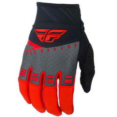 Fly Racing F-16 Adult MX Motocross Off Road Gloves -  Red/Black Grey S