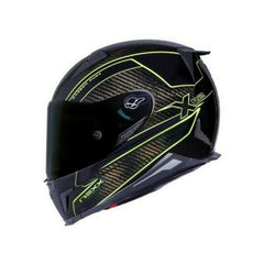 Nexx X.R2 Helmet - Carbon Pure Neon Yellow
