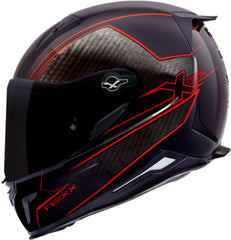 Nexx X.R2 Helmet - Carbon Pure Red