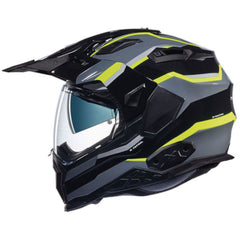 Nexx X.WED 2 Helmet - Patrol Black/Titanium/Neon Yellow