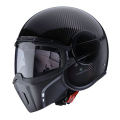 Caberg Ghost Open Face Streetfighter Scooter Motorcycle Helmet - Carbon - Caberg -  - MSG BIKE GEAR - 1