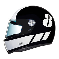 Nexx XG100 R Retro Full Face Helmet - Billy B Black/White