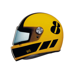 Nexx XG100 R Retro Full Face Helmet - Billy B Yellow/Black