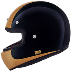 Nexx XG100 Rocker Full Face Helmet - Black/Gold
